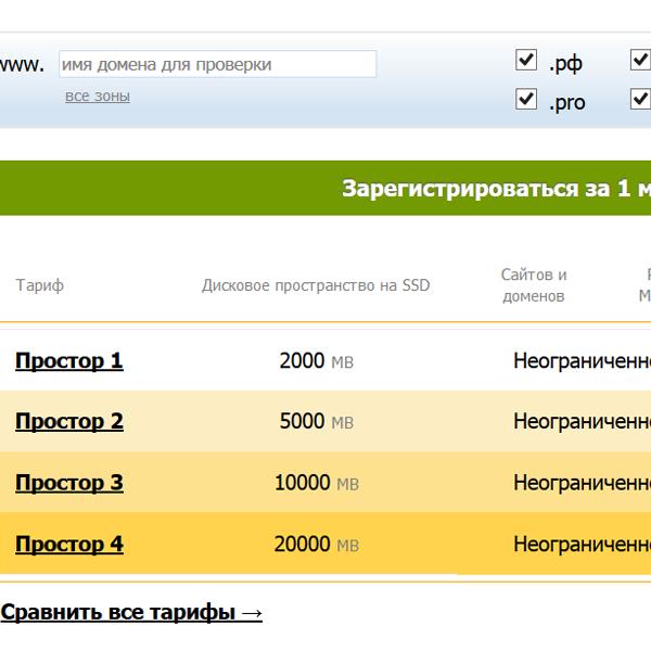 Выбор хостинга для посещаемость 1000 детский сад 127 севастополь официальный сайт
